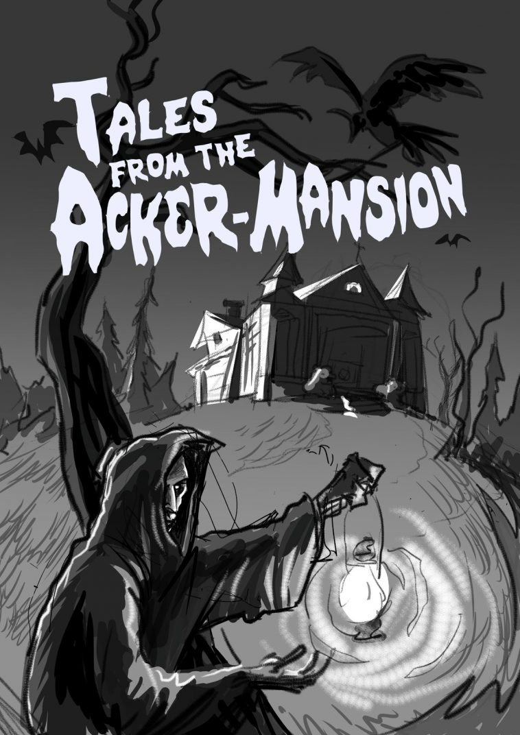 tales from the ackermansion concept art