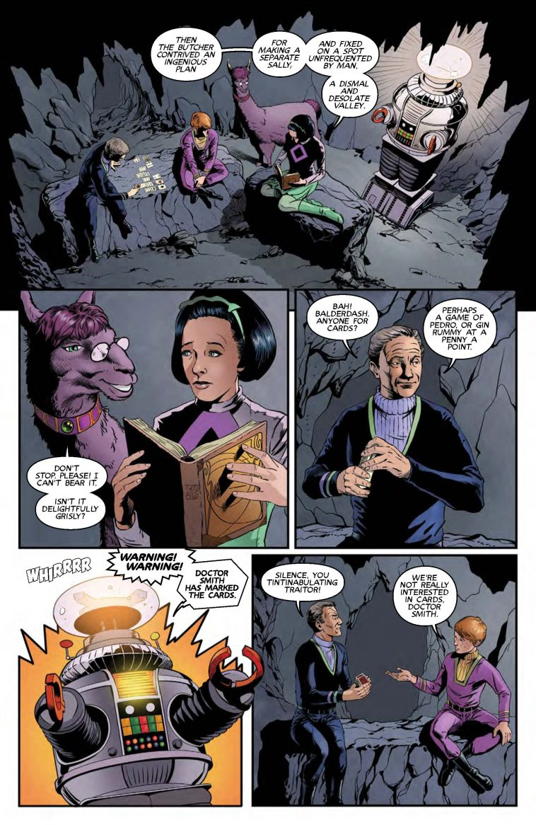 lost in space comic page 2