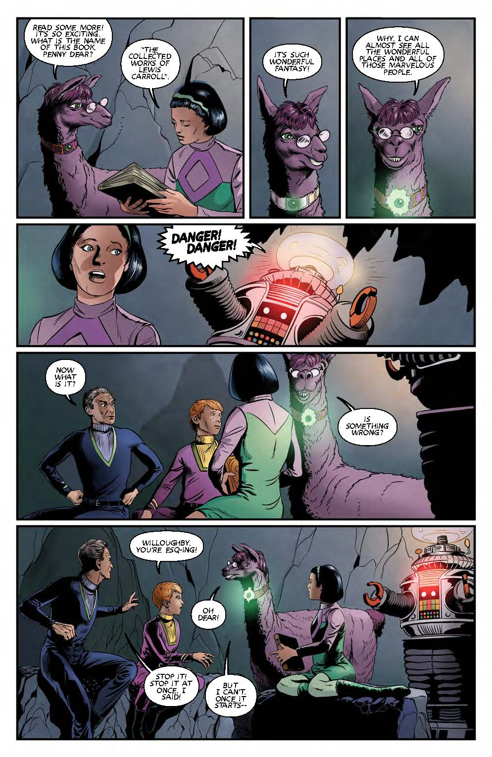 lost in space comic page 3