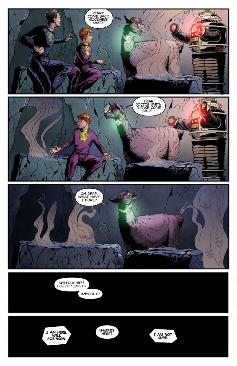 lost in space comic page 4