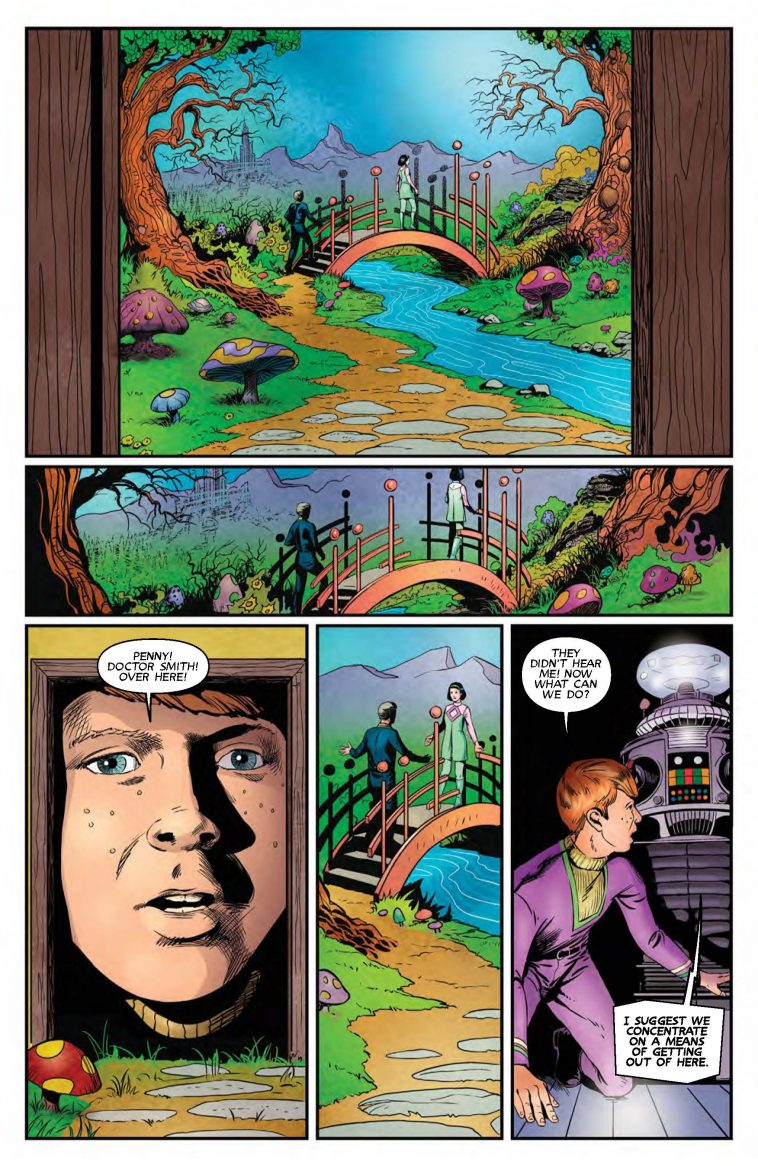 lost in space comic page 6