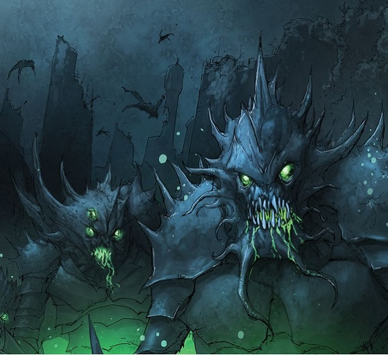 First Look! BROKEN MOON: LEGENDS OF THE DEEP #2