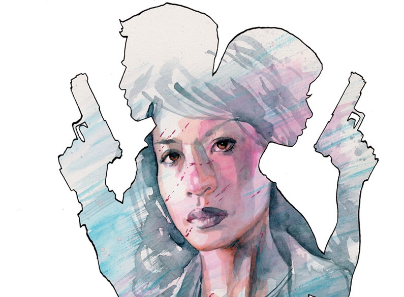 Superstar Artist David Mack Covers NICE
