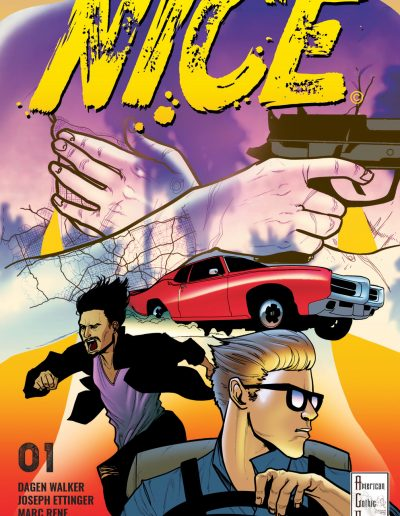 NICE Issue 1 Cover A Marc Rene